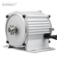 KUNRAY MY1020 BLDC Mid Motor Brushless 48V 750W DC, Electric Motorcycle Engine Motor Kit, For E Bike Dirt Bike Tricycle Quad Car