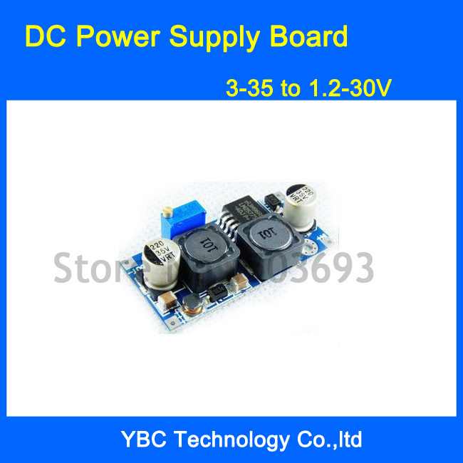 DC Power Supply Board 3-35V to 1.2-30V Auto DC Boost Buck Converter Solar