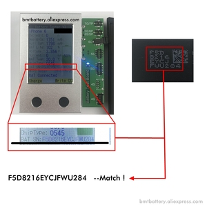 Image 2 - Bmt Originele 10 Pcs Foxcon Fabriek Batterij Voor Iphone 6 6G 1810 Mah 0 Cyclus Reparatie 100% Echt Herdrukt in 2019
