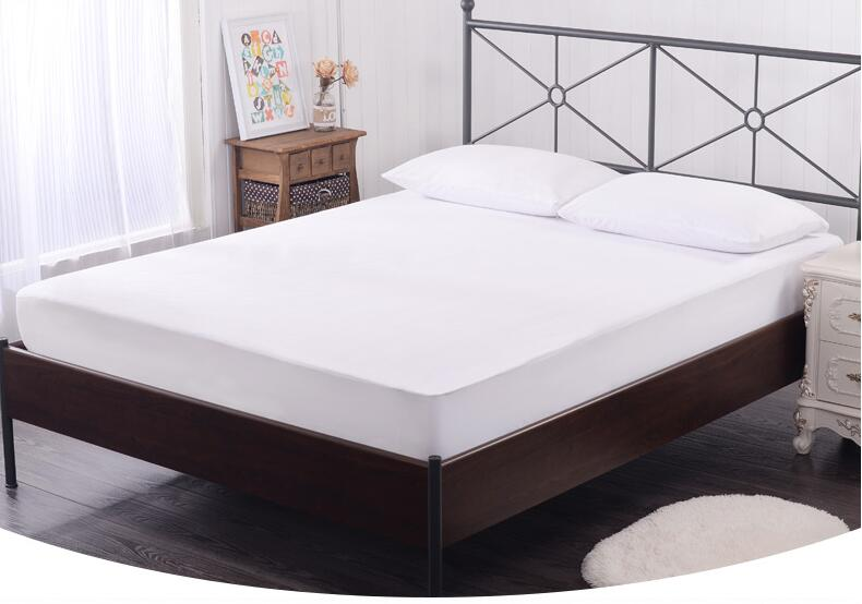 70gsm 100 Polyester Twin Full Queen King Size Breathable Soft Waterproof Mattress Cover Protector At Price