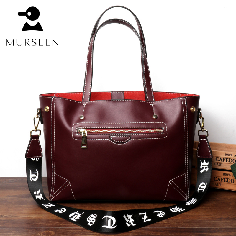 tote women genuine leather handbags luxury brand shoulder crossbody bags high quality ladies handbag cow leather bolsa feminina women genuine leather handbag brown ladies shoulder bags high quallity female tote purses handbags designer brand bolsa feminina
