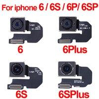Oryginalny duży aparat tylny aparat aparat z tyłu moduł Flex Cable dla iPhone 6 6s Plus 6Plus wymiana części naprawczych. w Elastyczne kable do telefonów komórkowych od Telefony komórkowe i telekomunikacja na