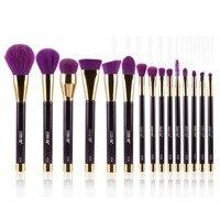 15 Pçs/set Fundação Blending Pincel de Maquiagem Conjunto Kit Escova Kabuki Cosméticos Maquillage Ferramentas Acessórios Navio Livre