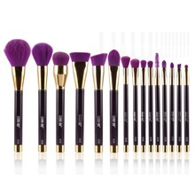 15 Pcs/Set Foundation Makeup Blending Brush Set Cosmetics Kabuki Brush Kit Maquillage Tools Accessories Free Ship