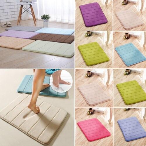 Schaumstoff Weich Badezimmer Schlafzimmer Badematte Bodenteppich Teppich
