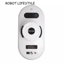 Remote control magnetic window cleaner robot for inside and outdoor high tall window, intelligent cleaning