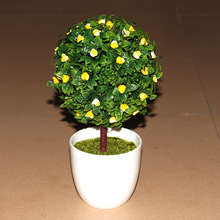 The potted bonsai bonsai wholesale decorative gift Home Furnishing simulation plant potted green plants and crafts quality