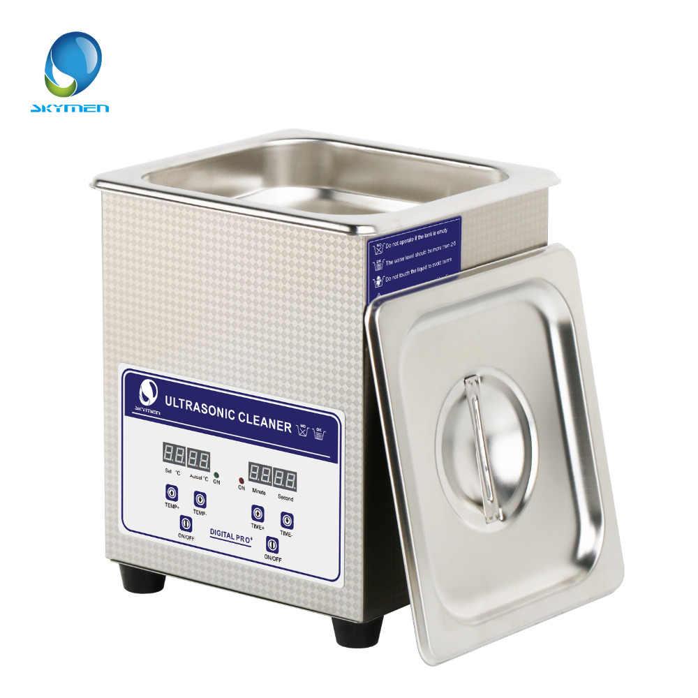 SKYMEN Digital 2L 60 w Ultra sonic sonic Cleaner com Cesta De Banho De Aquecimento Timer Solução para os Cortadores de Ferramentas de Metal Prata partes