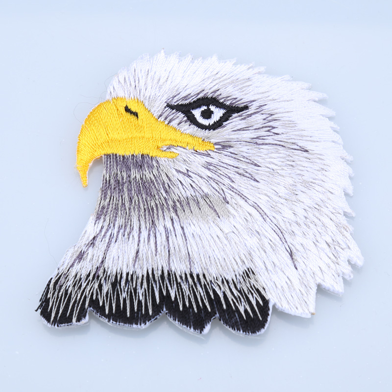 New Eagle Iron On Patches For Clothing Remendo Embroidery Diy