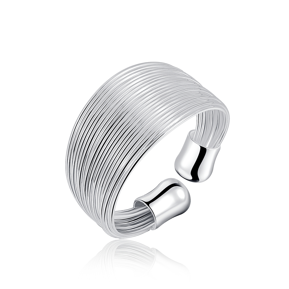 The New Silver Plated Ring Charm Women Bohemian Multiline Lady Cute Lovely  Nice Chain