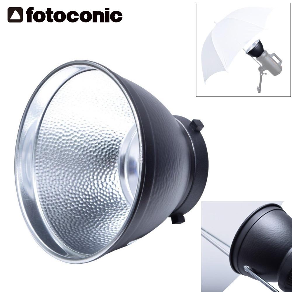 "Haoge 7 Standard Reflector Diffuser Lamp Shade Dish For: 7"" Studio Standard Reflector Diffuser Lamp Shade Dish W"