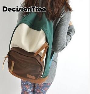 2016 Canvas Backpacks For School Backpack Canvas Backpacks Girls Bags Large Capcity Backpack