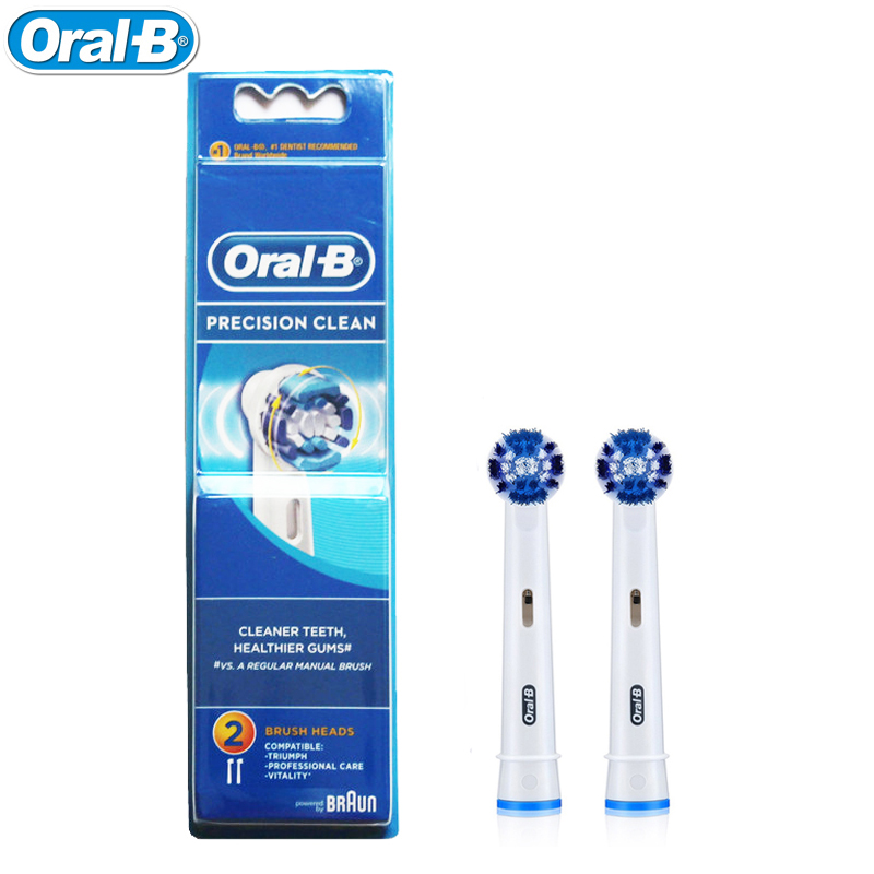 Oral B Electric Toothbrush Heads EB20-2 Toothbrush Replacement Precise Clean Heads for Oral B Rechargeable Toothbrush 1pack eb 25a model replacement electric toothbrush head eb25 cleaning tool fit for braun oral b tooth brush heads