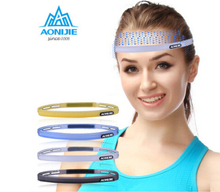 AONIJIE Silicone Sweatband Multi Function Sports Headwear Running Cycling Sweat Control Head Band