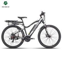 21 speeds, 27.5 Inches Electric Bicycle, 36V 8Ah Invisibility Battery, Suspension Fork,Both Disc Brake, E bike Mountain Bike