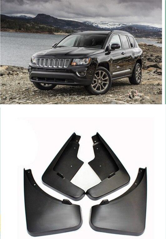 For Jeep Compass 2011 2012 2013 2014 2015 Front Rear Mud Flaps Splash Guards Mudguard Set