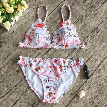 3d61c0ff048e YICN Sexy Micro Bikini Tanga Bikinis Set 2019 Mujer traje de baño alta  cintura Monokini brasileño ...