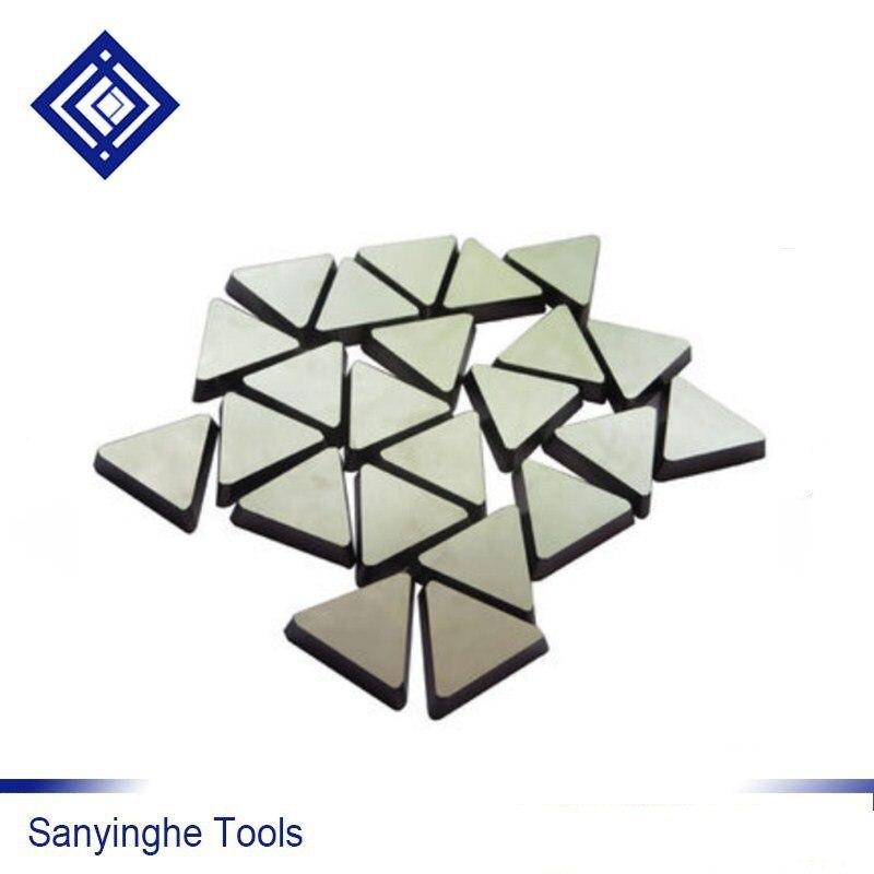 20 pz / lotto YT5 3130511 sanyinghe carburo di tungsteno Triangolo - Macchine utensili e accessori - Fotografia 2