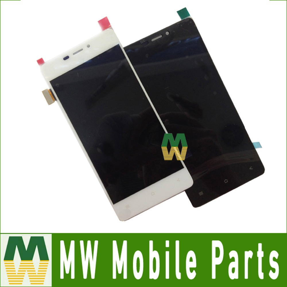 ФОТО 1PC/Lot Black Color  LCD Display + Touch Screen Assembly Digitizer For Gionee Discovery Air S5.1 GN9005