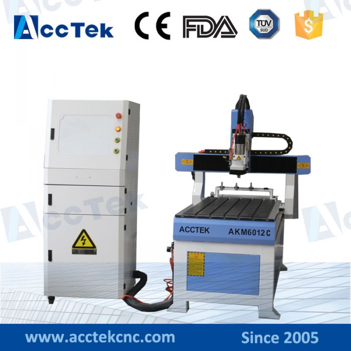AKM6012C USB Port Cnc Router Atc With Mach 3 Control System