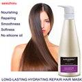 500 ml MASCARILLA CAPILAR de REPARACIÓN Nutritiva HIDRATANTE ARTEFACTO de LARGA DURACIÓN para cabello seco y dañado sin aceite de silicona