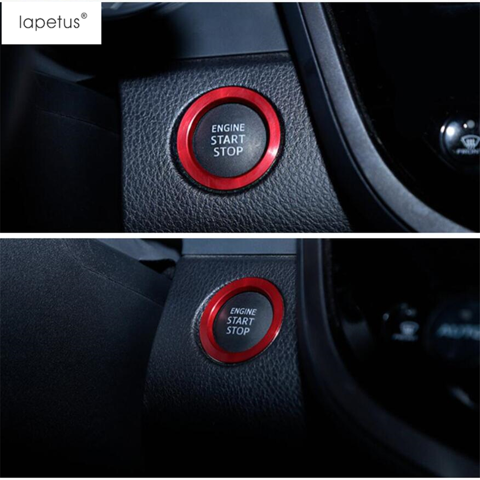 Lapetus Accessories Fit For Toyota Camry XV70 2018 2019 Engine Start Stop Ring Keyless Start System Button Molding Cover Metal in Interior Mouldings from Automobiles Motorcycles