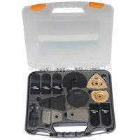 13pcs Oscillating Blade SET Accessories For Multi Oscillating Tool Renovator Saw Blade Plastic Case Free Shipping