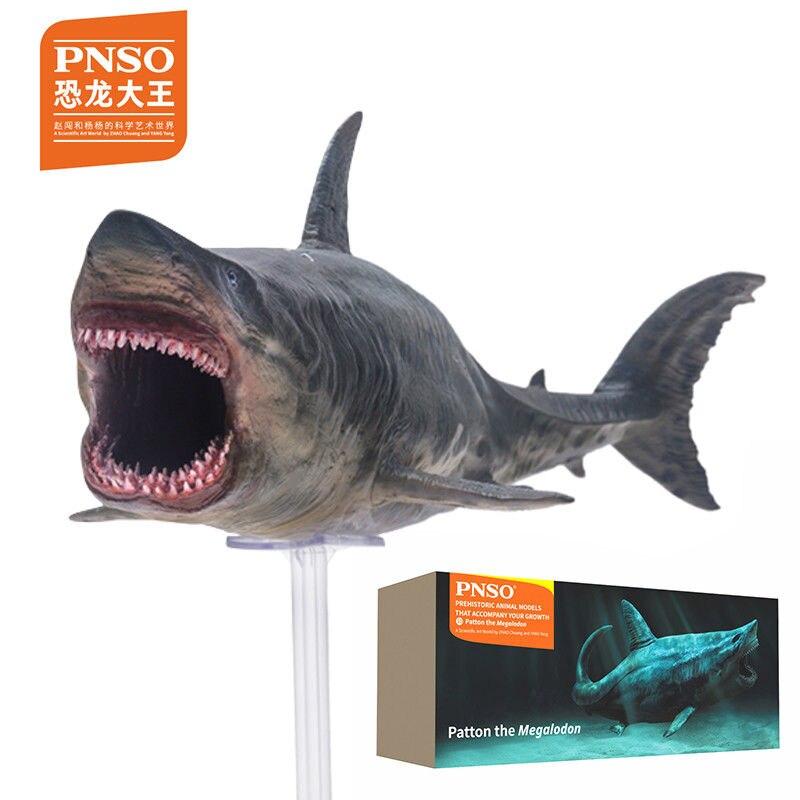 PNSO La Meg Rare Megalodon préhistorique requins Dinosaures Modèle Figure