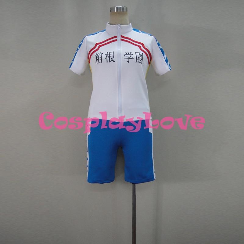 Yowamushi Pedal Hakogaku Yasutomo Arakita Bicycle Race Suit Jersey Short Sleeve Cycling Cloth Cosplay Costume