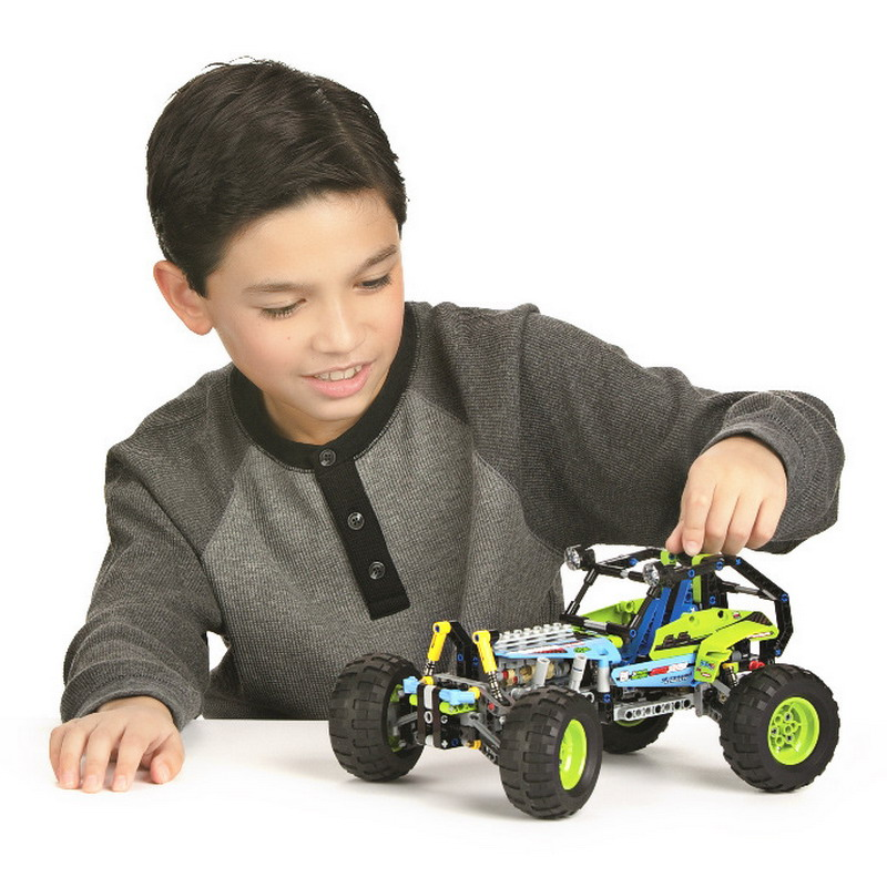 494pcs Technic Series Formula Off-Roader Car Model Building Blocks DIY Toys For Children Compatible With LegoINGly Technic