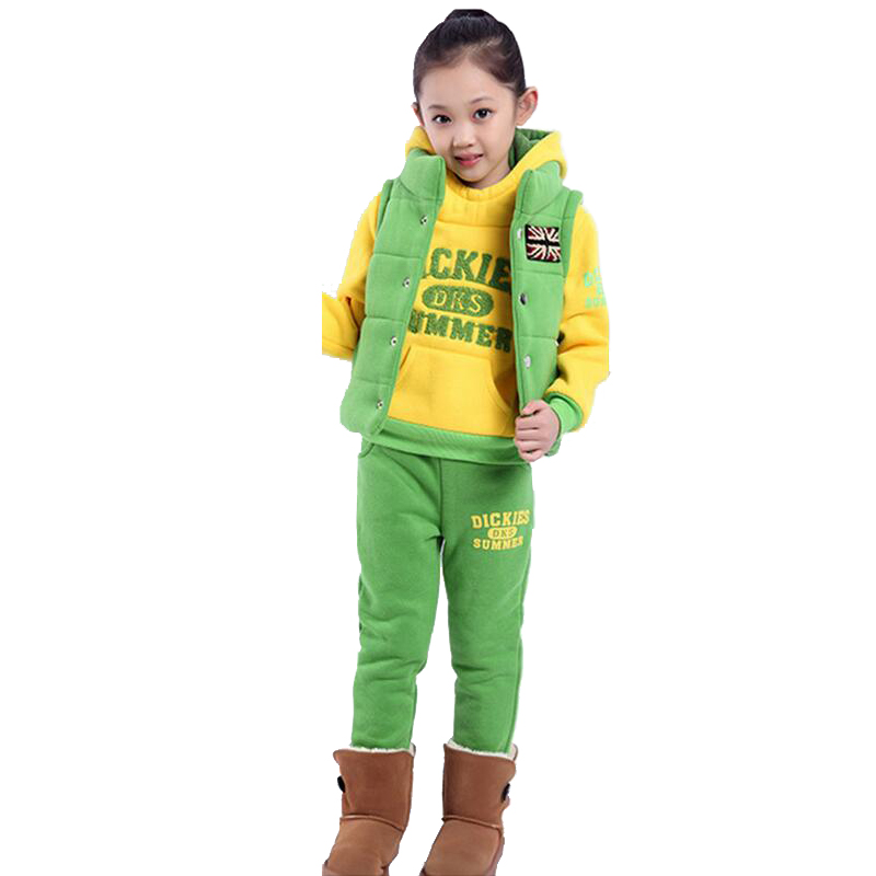 Hooded Boutique Kids Clothing Neutral Casual Sets Ropa De Nina Tracksuit Kids Three-piece Thickening Sweater Costume For Boy nina stefanovich tale about littleworm book for kids
