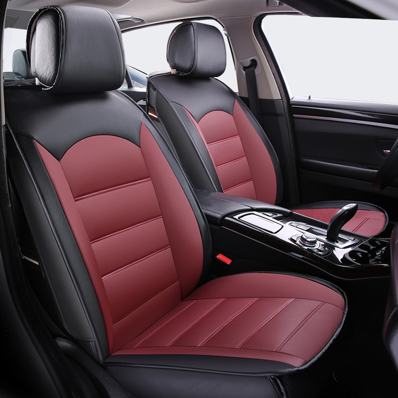 high quality universal pu leather car seat covers for honda crosstour crv cr v fit hrv insight. Black Bedroom Furniture Sets. Home Design Ideas