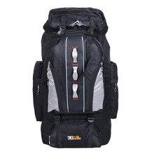 Купить с кэшбэком 100L Backpacks Nylon Outdoor Waterproof Hiking Big Travel Bags Unisex Sports Bag  2019 Multifunctional Camping Fishing Backpack