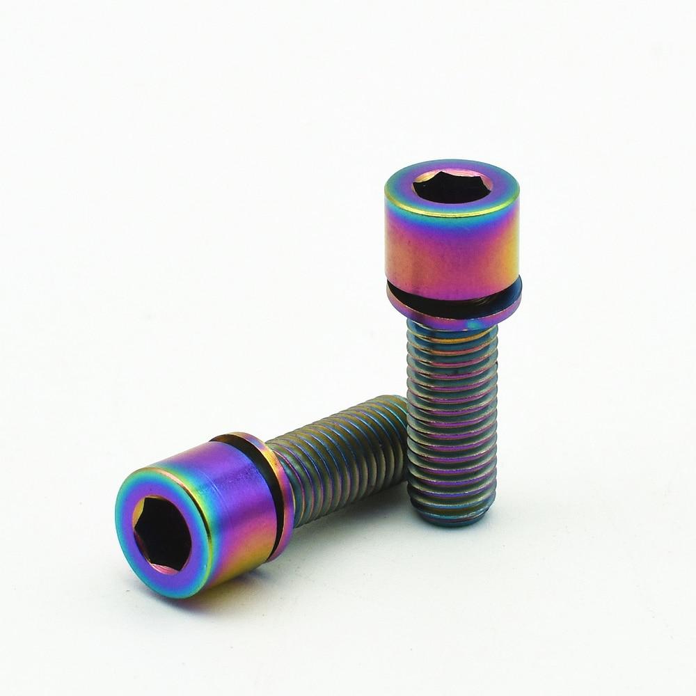 TA2 Grade 2 4 Stück M6*15 mm Innensechskantschraube DIN 912 Material Titan