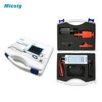 Micsig DP20003 осциллограф 100 мГц 5600 В высокое Напряжение дифференциальный Пробник комплект 3.5ns Время нарастания 200X/2000X скорость затухания