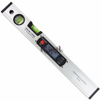 Digital Angle Finder Level 360 Degree Range Spirit Level Upright Inclinometer with Magnets Protractor Ruler