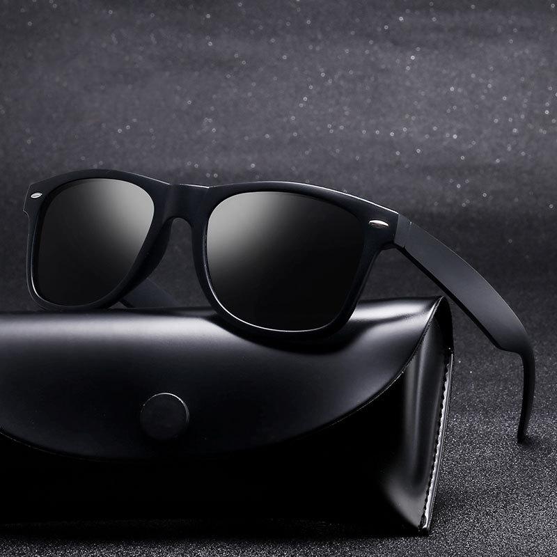 ZXRCYYL 2020 Polarized Sunglasses Men Brand Design Driving Sun glasses Square Glasses For Men High Quality UV400 Oculos De Sol