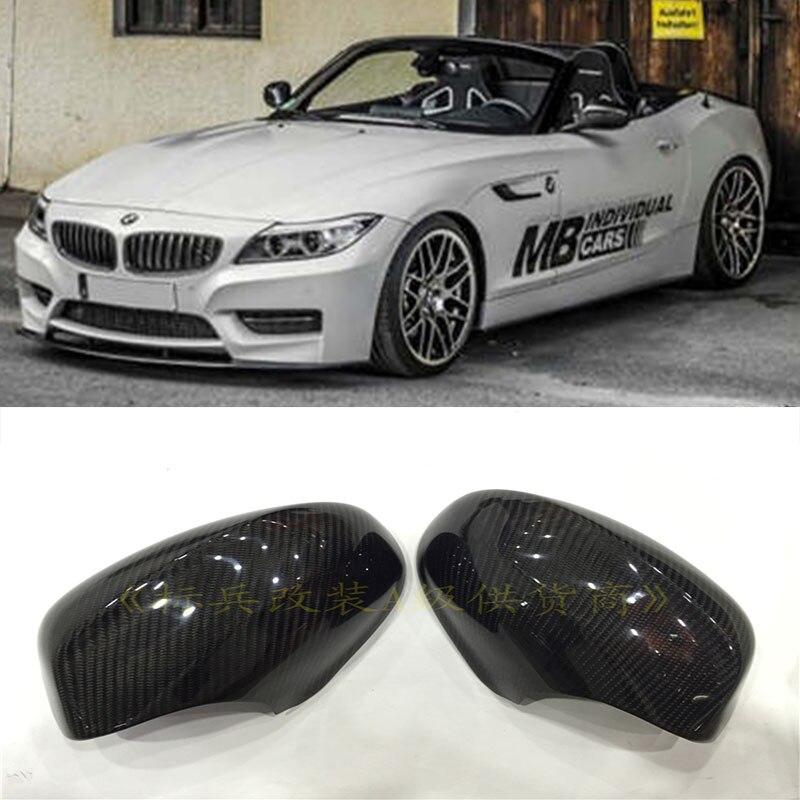Bmw Z 4 Price: E89 Z4 Carbon Fiber Car Styling Rear Mirror Cover Cap Trim