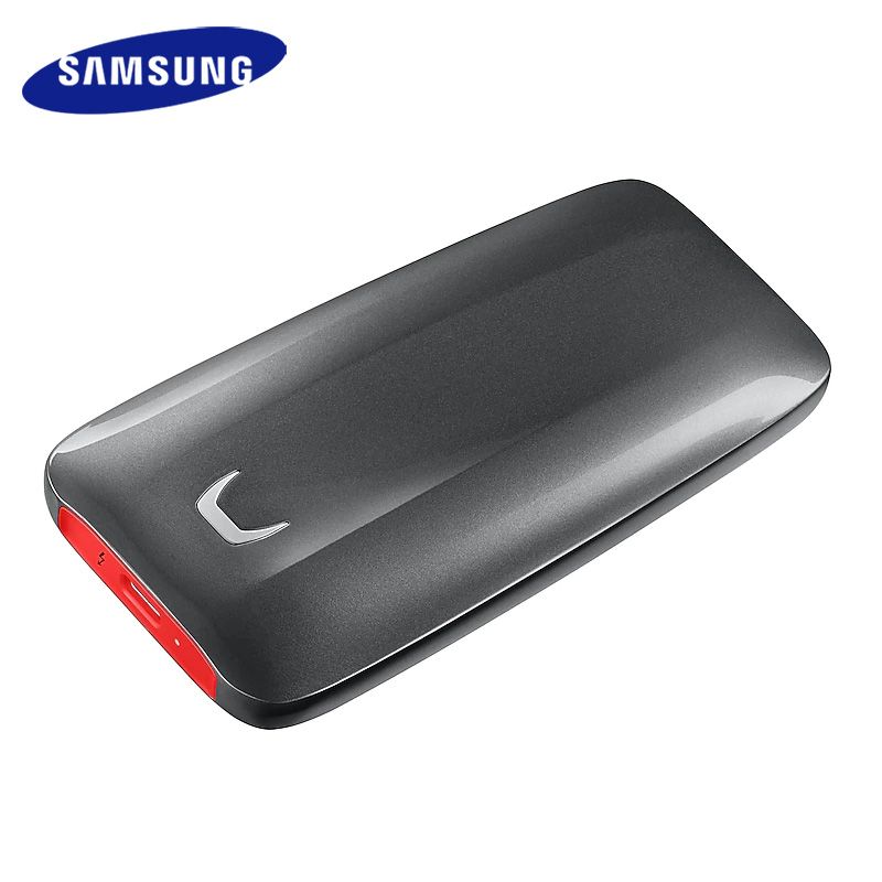 Samsung SSD External X5 2TB 1TB 500GB External Solid State HDD Hard Drive Thunderbolt 3 (40Gbps) and backward compatible Phone 1