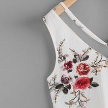 Free Ostrich Women Chiffon Shirt Floral Casual Sleeveless Blouse 2018 summer tops  Fashion D10