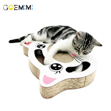 Cat Toys Pet Indoor Wooden Lovely Ear Shape Hunting Toy Interactive 3/5-holed  Scratch Cats Play pet products