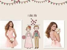 Kurze Brautkleider 2017 Scoop Sheer Neck Sleeveless Backless Short Mini Tüll und Falten Bogen 2017 Cocktailkleider Party Kleider