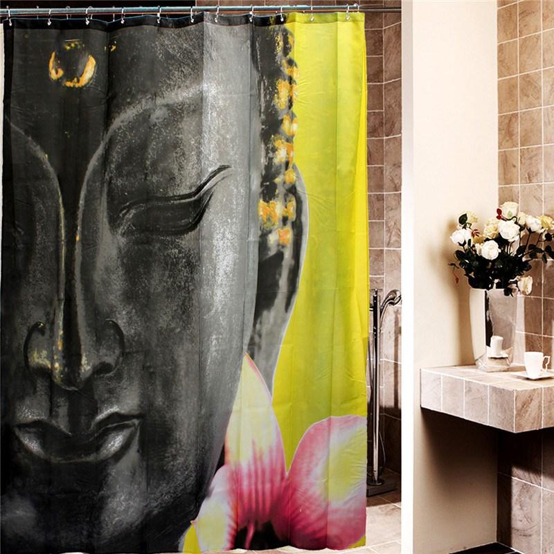 online get cheap waterdicht douchegordijn boeddha -aliexpress, Badkamer