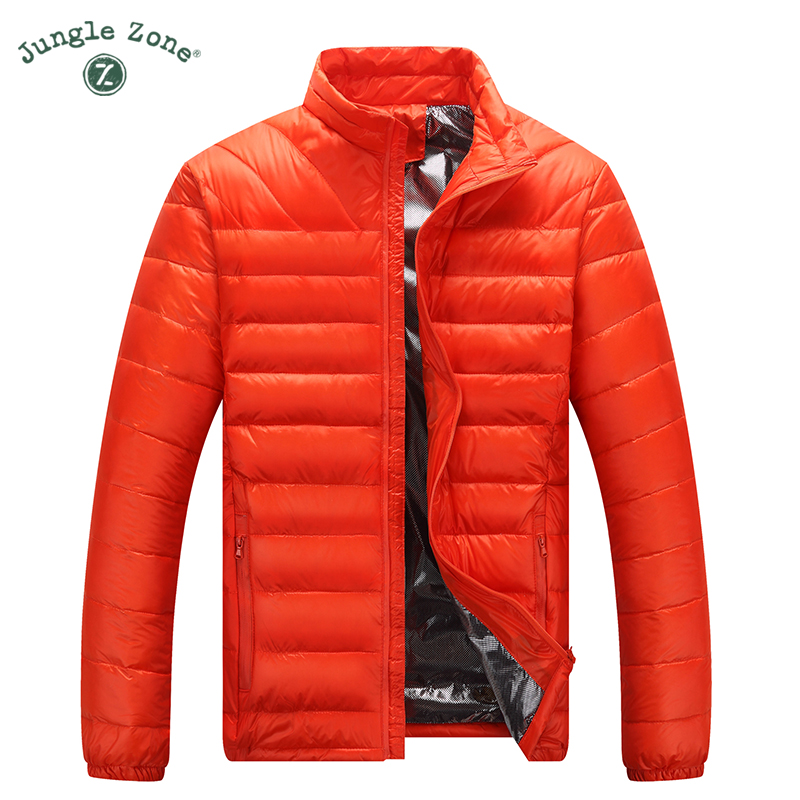 Winter down jacket Ultralight Mens Down Jackets Clothes Outwear Warm coat Casual Ultra Light Thin Coats 5 colors