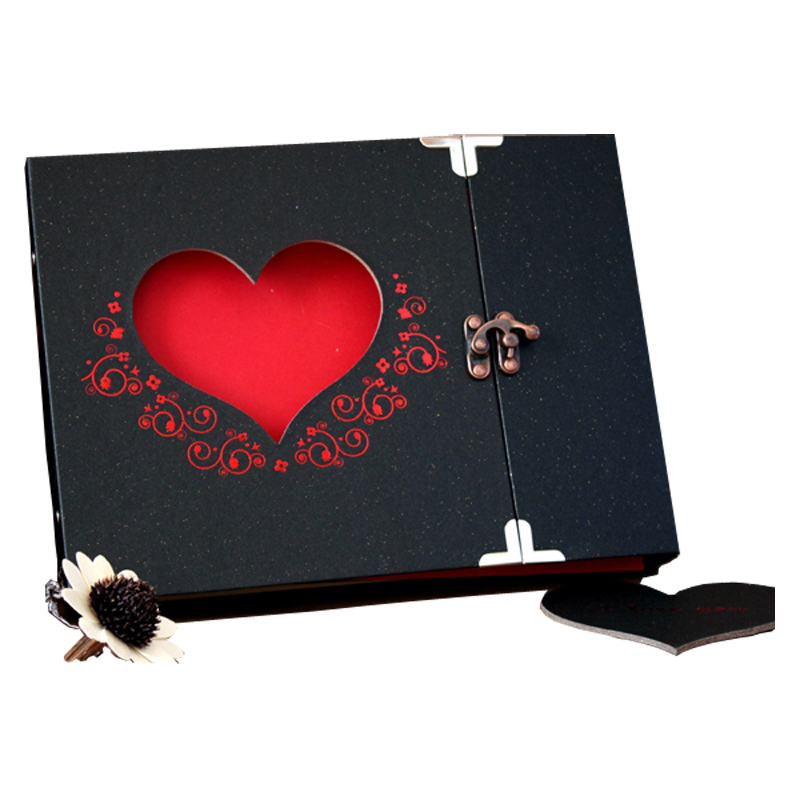 New Diy Handmade Creative Albums Romantic Souvenir: Handmade Creative DIY Photo Album Wedding Sticky Autograph