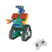RC Robot Kit DIY Building Blocks Compatible with Legoed Bricks Remote Control Robot RC Block Technic STEM Education Toy for Kids