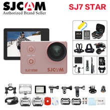 Action camera SJCAM SJ7 Star 4K 30fps WiFi 2 .0″ Touch Screen Remote underwater waterproof Helmet Cam camera better go pro her4