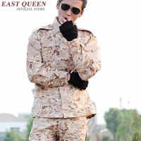 Uniforme militar americano de camuflaje táctico, uniforme de las fuerzas especiales, ropa de combate, traje AA2399