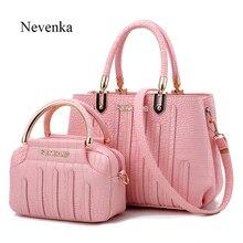 Nevenka Mode Frauen Tasche Composite-tasche Marke Tote Damen Abend Handtasche Umhängetaschen Solide Pu-leder Messenger Bags Sac