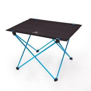 Image 3 - Taşınabilir katlanabilir katlanır masa 4 ila 6 kişi masası kamp barbekü yürüyüş seyahat açık piknik 7075 alüminyum alaşımlı Ultra işık